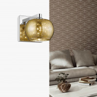 Zumaline Rain Wall Gold Drops -