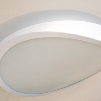 AZzardo Circulo 58 White Top -